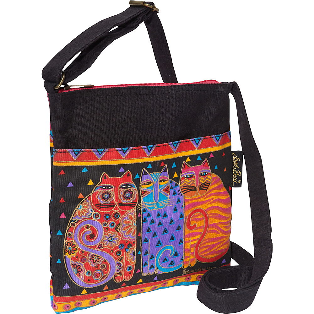 Laurel Burch Feline Friends Multi Laurel Burch Fabric Handbags