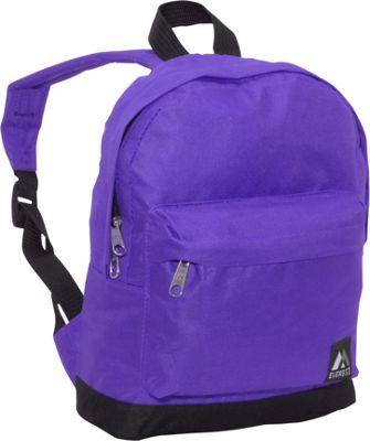 Everest Junior Kids Backpack Dark Purple / Black - Everest Everyday Backpacks