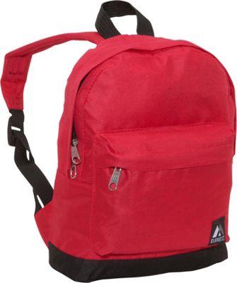 Everest Junior Kids Backpack Red/Black - Everest Everyday Backpacks