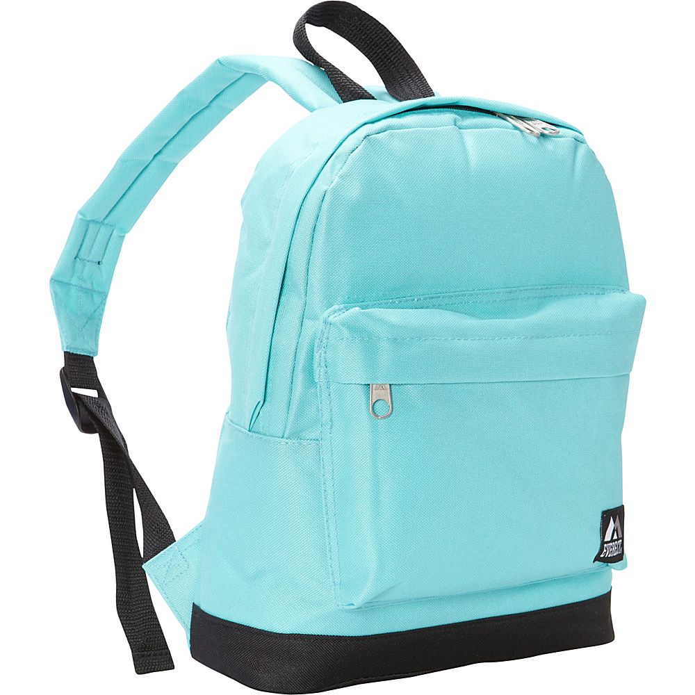 Everest Junior Kids Backpack Aqua Blue Black Everest Everyday Backpacks