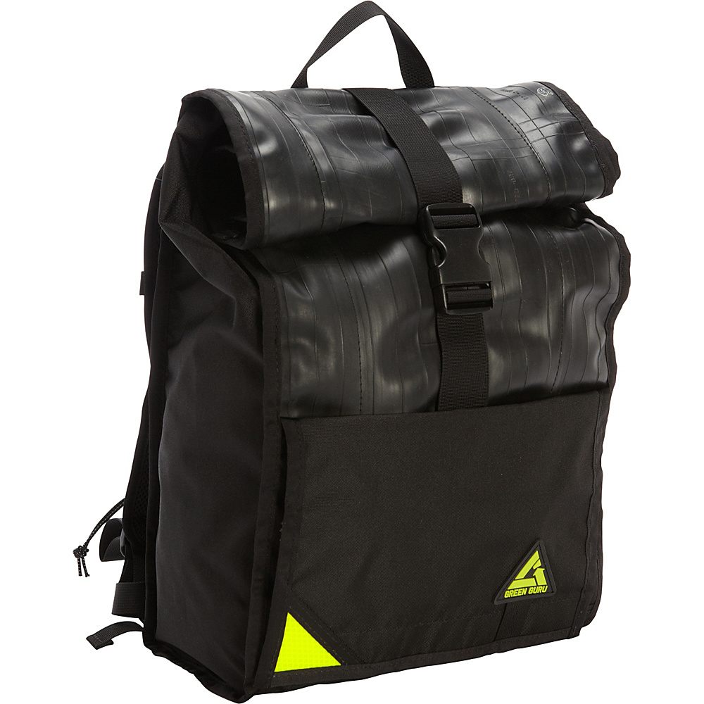 Green Guru Commuter Backpack Black - Green Guru Everyday Backpacks