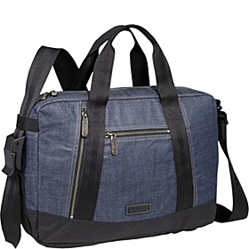 Tacoma Briefcase Indigo Denim
