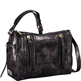 Aldyn Shoulder Bag Metallic Black