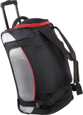 Samsonite Utility Backpack Duffel 22 Black Grey Samsonite Travel Duffels