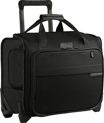 Briggs & Riley Briggs & Riley Baseline Rolling Cabin Bag Black - Briggs & Riley Softside Carry-On