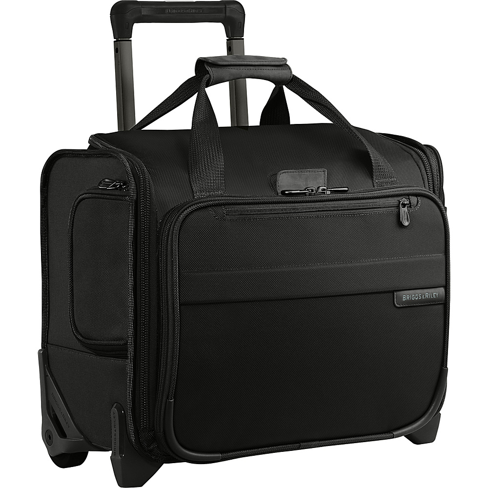 Briggs & Riley Baseline Rolling Cabin Bag Black - Briggs & Riley Softside Carry-On