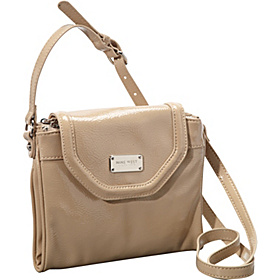 Can't Stop Shopper Tab Crossbody Oatmeal