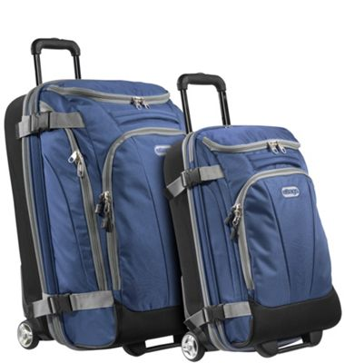 eBags Value Set: TLS Junior 25 inch + TLS Mini 21 inch Wheeled Duffels Blue Yonder - eBags Luggage Sets