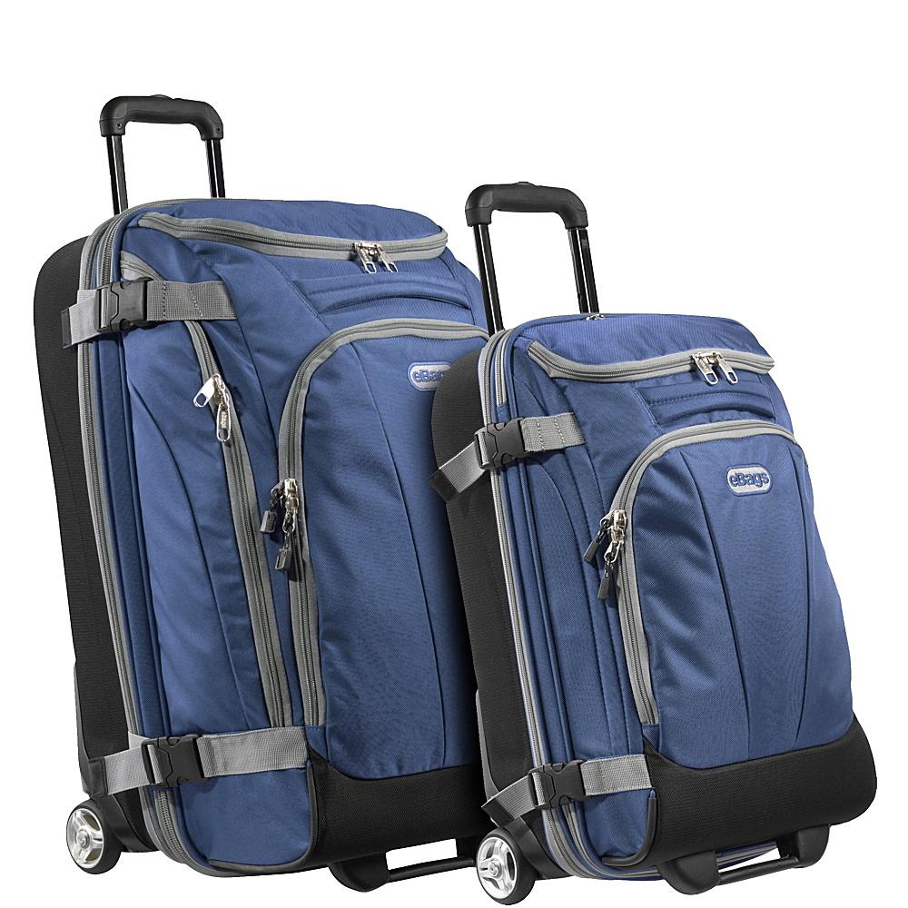 eBags Value Set: TLS Junior 25 + TLS Mini 21 Wheeled Duffels Blue Yonder - eBags Luggage Sets - Luggage, Luggage Sets