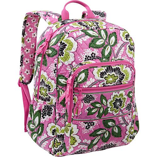 381f3c7cff Vera Bradley Campus Backpack Priscilla Pink – Vera Bradley School   Day  Hiking Backpacks