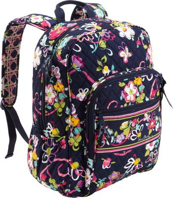 Bring function and style to school or work with Vera Bradley backpacks. Our women's backpacks combine smart organization with fun, colorful fashion. Need even more versatility? Discover our Campus Backpack and Rolling Backpack for travel flexibility.