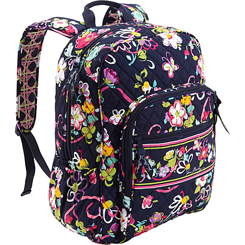 Vera Bradley Campus Backpack Ribbons – Vera Bradley School   Day Hiking  Backpacks b694643b930d0