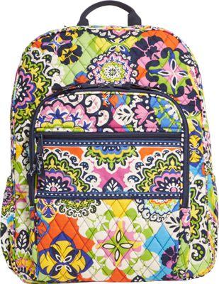 Vera Bradley Campus Backpack Rio - Vera Bradley School & Day Hiking Backpacks