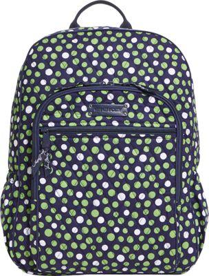 Vera Bradley Campus Backpack Lucky Dots - Vera Bradley School & Day Hiking Backpacks