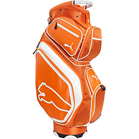 Monoline Cart Golf Bag VIBRANT ORANGE