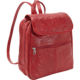 Backpack Handbag Red