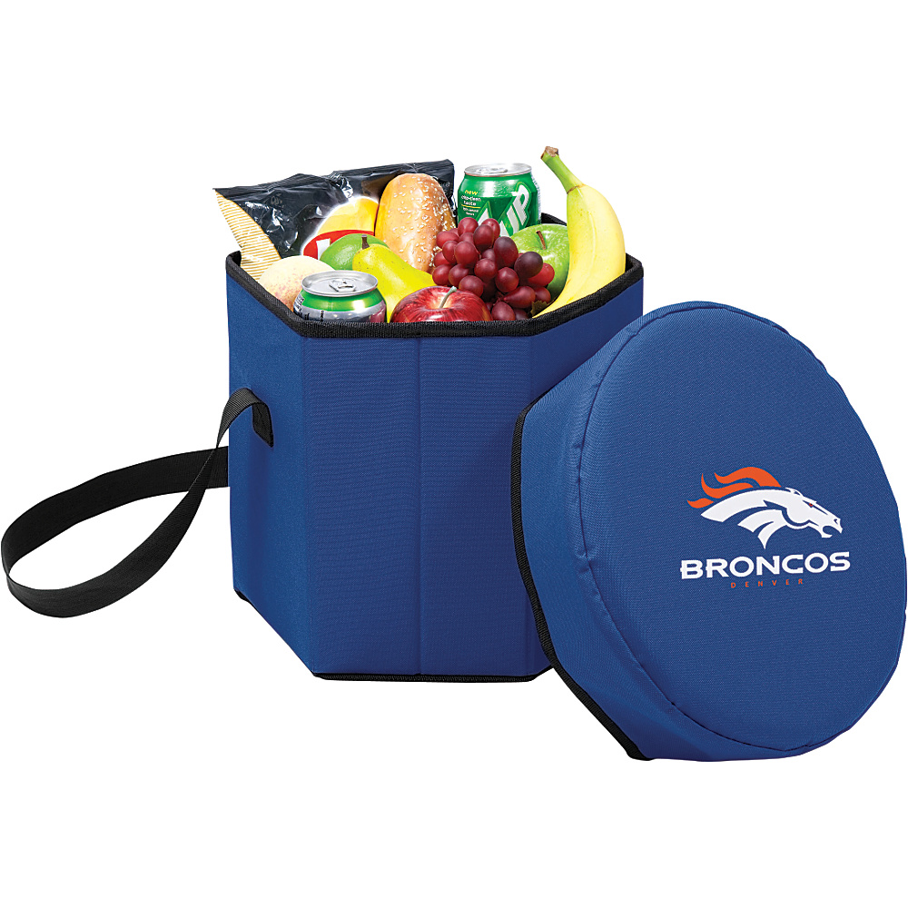 Picnic Time Denver Broncos Bongo Cooler Denver Broncos Navy - Picnic Time Outdoor Coolers - Outdoor, Outdoor Coolers