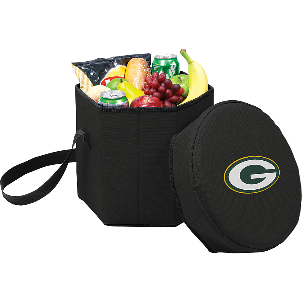 Picnic Time Green Bay Packers Bongo Cooler Green Bay Packers Black - Picnic Time Outdoor Coolers - Outdoor, Outdoor Coolers