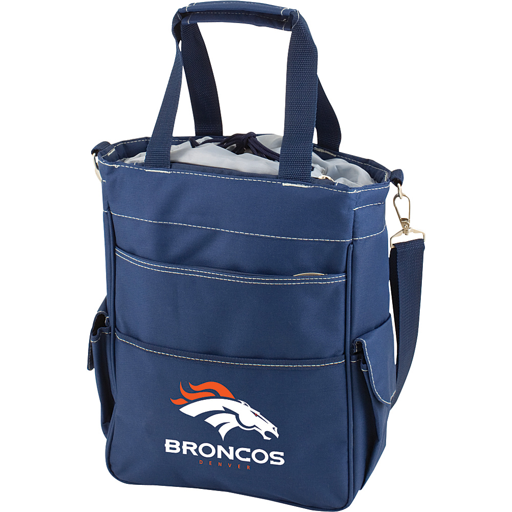 Picnic Time Denver Broncos Activo Cooler Denver Broncos Navy - Picnic Time Outdoor Coolers - Outdoor, Outdoor Coolers