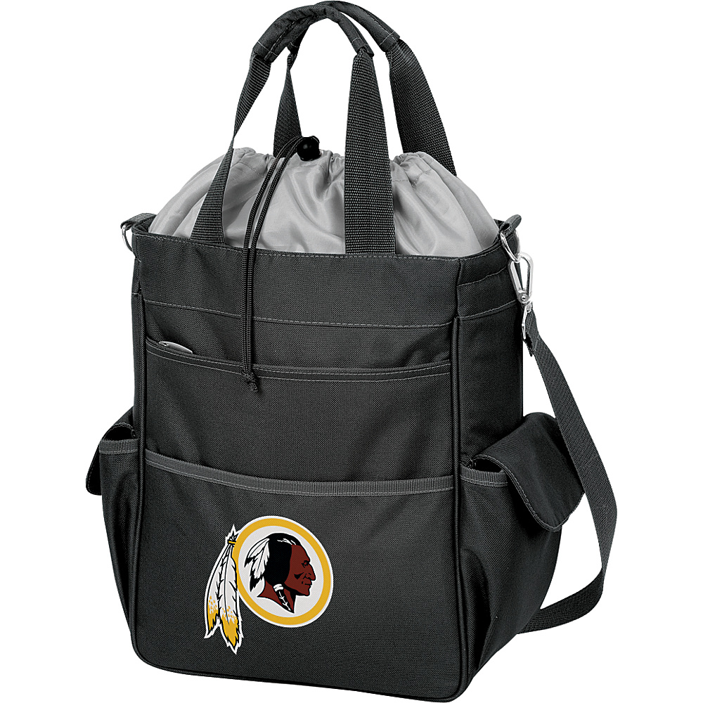 Picnic Time Washington Redskins Activo Cooler Washington Redskins Black - Picnic Time Outdoor Coolers - Outdoor, Outdoor Coolers