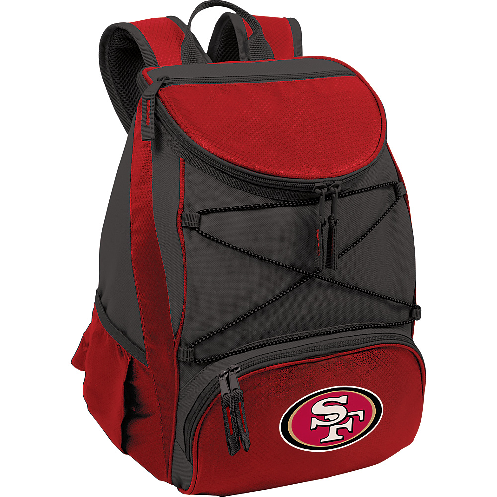 Picnic Time San Francisco 49ers PTX Cooler San Francisco 49ers Red - Picnic Time Outdoor Coolers - Outdoor, Outdoor Coolers