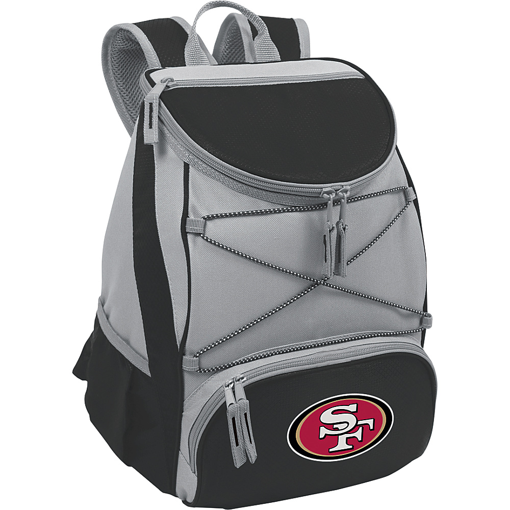 Picnic Time San Francisco 49ers PTX Cooler San Francisco 49ers Black - Picnic Time Outdoor Coolers - Outdoor, Outdoor Coolers