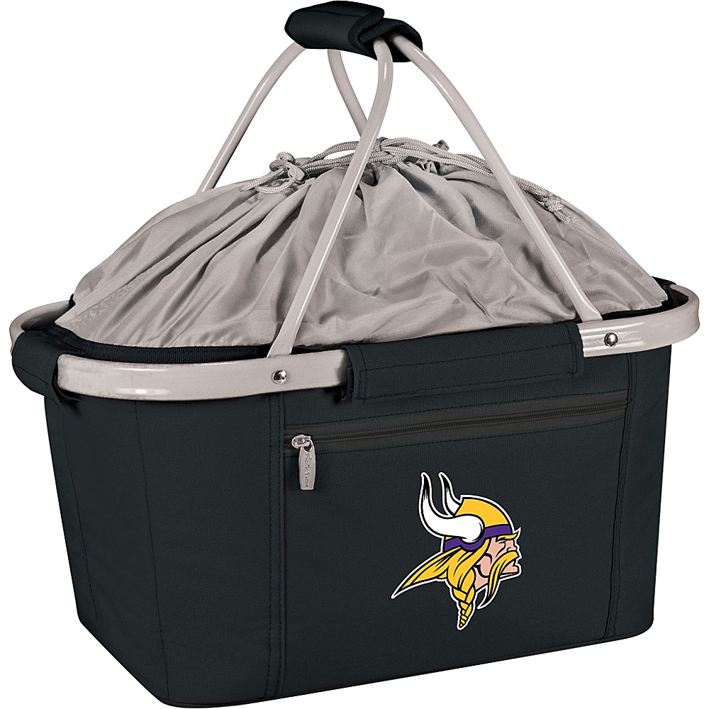 Picnic Time Minnesota Vikings Metro Basket Minnesota Vikings Black - Picnic Time Outdoor Coolers - Outdoor, Outdoor Coolers