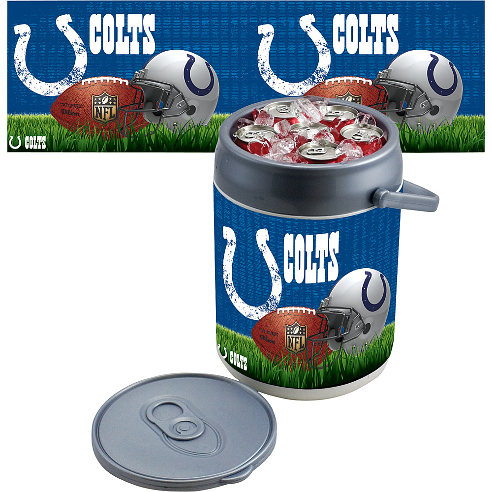 Picnic Time Indianapolis Colts Can Cooler Indianapolis Colts - Picnic Time Outdoor Coolers - Outdoor, Outdoor Coolers