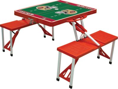 Picnic Time Picnic Time San Francisco 49ers Picnic Table Sport San Francisco 49ers Red - Picnic Time Outdoor Accessories