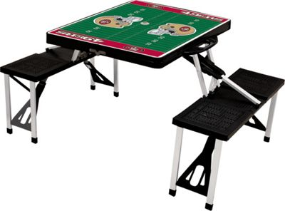 Picnic Time Picnic Time San Francisco 49ers Picnic Table Sport San Francisco 49ers Black - Picnic Time Outdoor Accessories