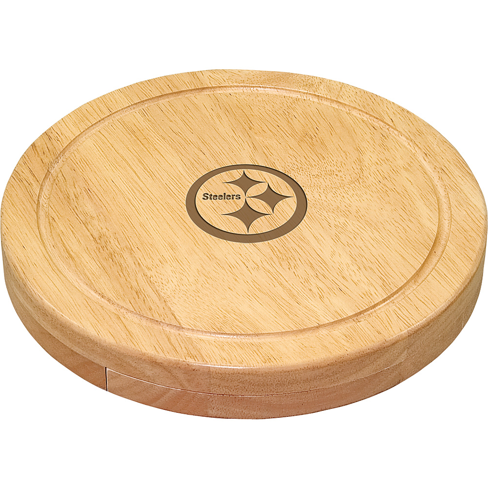 Picnic Time Pittsburgh Steelers Cheese Board Set Pittsburgh Steelers - Picnic Time Outdoor Accessories - Outdoor, Outdoor Accessories