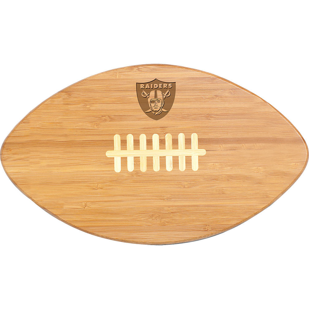 Picnic Time Oakland Raiders Touchdown Pro! Cutting Board Oakland Raiders - Picnic Time Outdoor Accessories - Outdoor, Outdoor Accessories