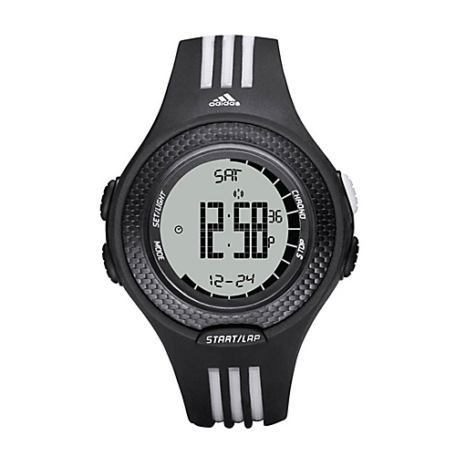 adidas originals Watches Adidas Performance Response Galaxy Black with White Striped Band - adidas... (10218808 ADP3054-Black) photo