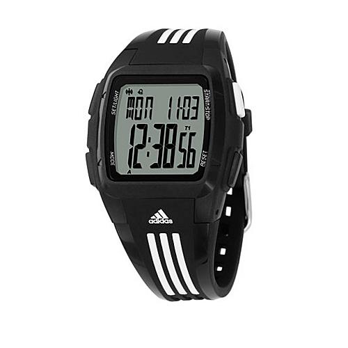 adidas originals Watches Adidas Performance Duramo Black with White Striped Band - adidas originals... (10218828 ADP6003-Black) photo