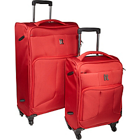 Ultra Lightweight Polyester 2 Piece Spinner Set Red