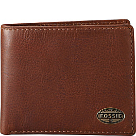 Estate Zip Gusset Traveler Wallet Cognac