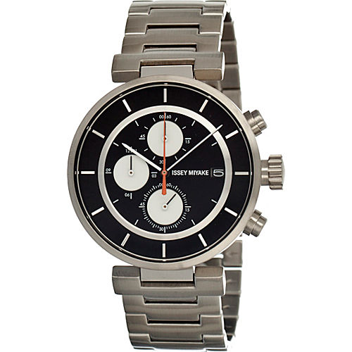 Black Dial; Metal Silver Band - $519.99