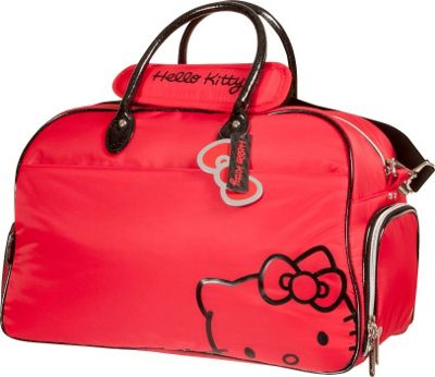 Hello Kitty Golf Hello Kitty Golf Hello Kitty Diva Duffle Golf Bag Red - Hello Kitty Golf Gym Duffels