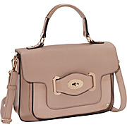 Melie Bianco Lena Top Handle Flap Bag