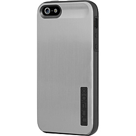 Dual Pro Shine for iPhone 5 Titanium Silver/ Obsidian Black