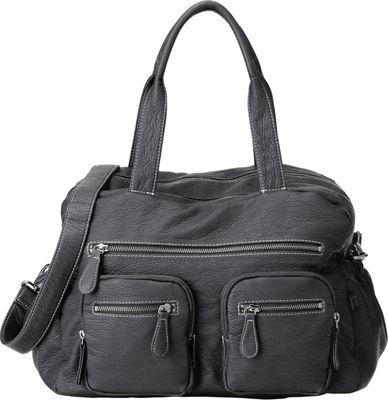 OiOi Buffalo Carry All Diaper bag Charcoal - OiOi Diaper Bags & Accessories