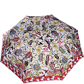 Artist Circle Umbrella Natural Peace Print