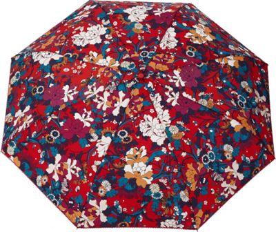 Sakroots Artist Circle Umbrella Crimson Flower Power - Sakroots Umbrellas and Rain Gear