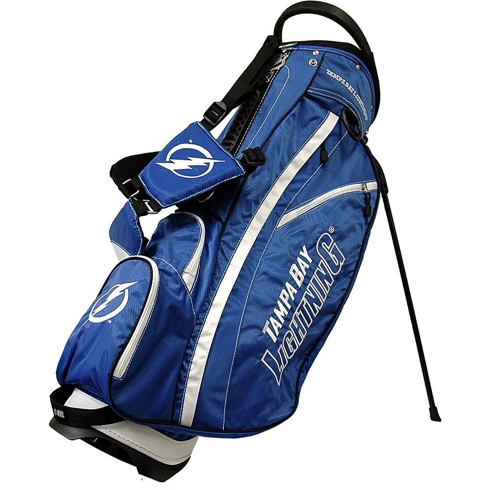 Team Golf USA NHL Tampa Bay Lightning Fairway Stand Bag Blue - Team Golf USA Golf Bags