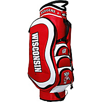 Team Golf NCAA University of Winconsin Badgers Medalist Cart Bag Red - Team Golf Golf Bags