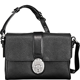 Villa Este Small Crossbody Black D-2