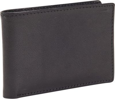 Dopp RFID Black Ops Front Pocket Slimfold Wallet Black - Dopp Men's Wallets