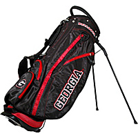 Team Golf NCAA University of Georgia Bulldogs Fairway Stand Bag Black - Team Golf Golf Bags