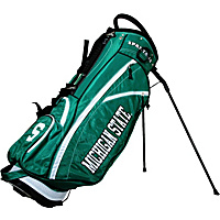 Team Golf NCAA Michigan State University Spartans Fairway Stand Bag Green - Team Golf Golf Bags