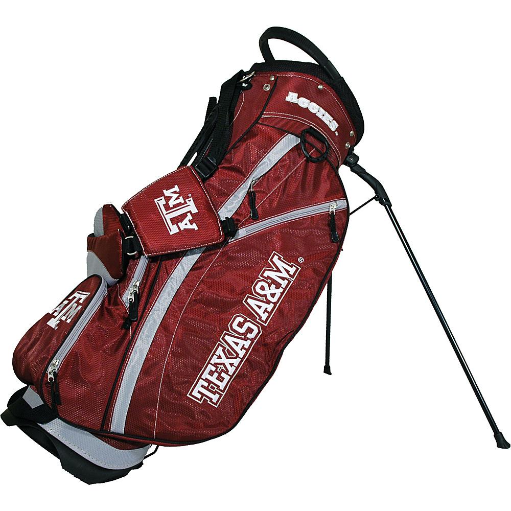 Team Golf USA NCAA Texas AM University Aggies Fairway Stand Bag Maroon - Team Golf USA Golf Bags